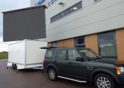 Mobile LED Screens Towed Directly to You