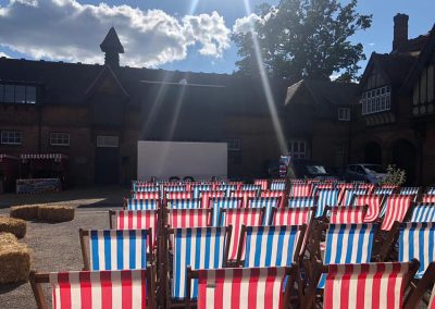 Private Cinema Screens