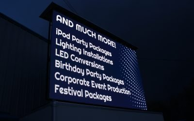 LED Screens For Sponsorship