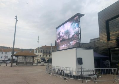 Spread Your Message With The Big Screen